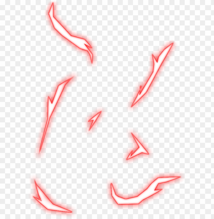 Thumbnail Effects Png Transparent Neon Png Sparkle Png Red Lightning