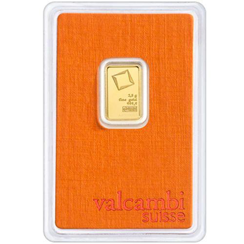 2 5 Gram Valcambi Gold Bar New W Assay Gold Price Chart Gold Coin Price Gold Bar
