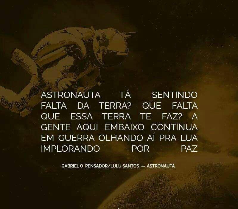 astronauta de gabriel o pensador