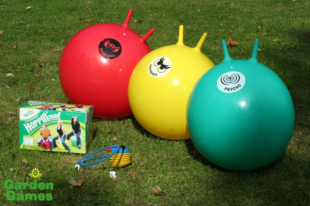 3 Giant Adult Space Hoppers 70 S Party Bbq Garden Game Space