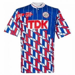 1990 91 Retro Jersey Ajax Away Replica Soccer Shirt 1990 91 Retro Jersey Ajax Away Replica Soccer Shirt Che In 2020 Retro Football Shirts Soccer Jersey Soccer Shirts