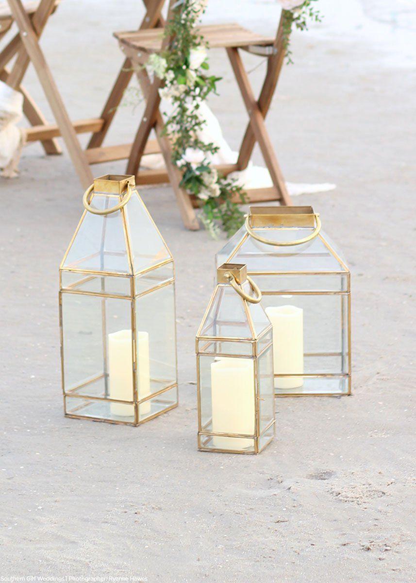 Gold Glass Lantern Wedding Candle Holders Afloral Com Gold Lantern Lantern Decor Wedding Glass Candle Lantern