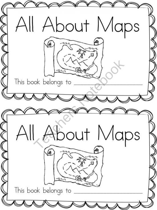 Virginia SOL Map Skills Bundle from Everyday Adventures on