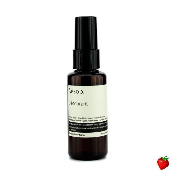 Aesop Deodorant 50ml/1.62oz #Aesop #MensSkinCare #Deodorant #Men #FREEShipping #StrawberryNET