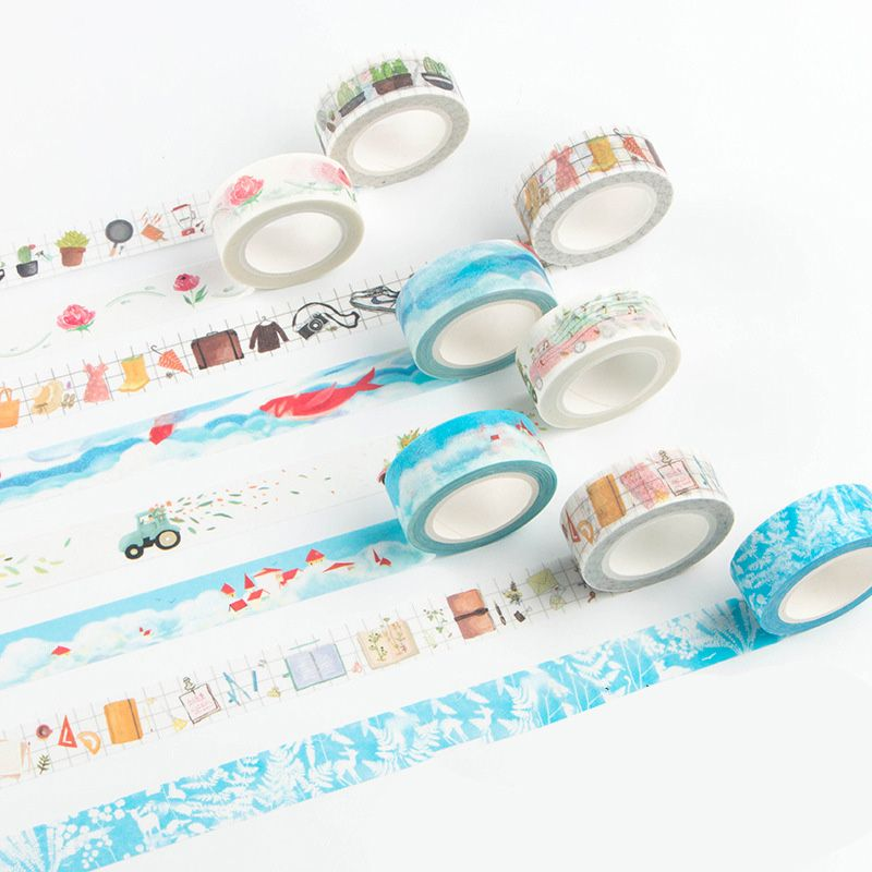 Scotch Decorative Masking Tape Captivating 15Mm*7M Basic Scrapbook Supplies Notebook Stickers Decorative Design Decoration