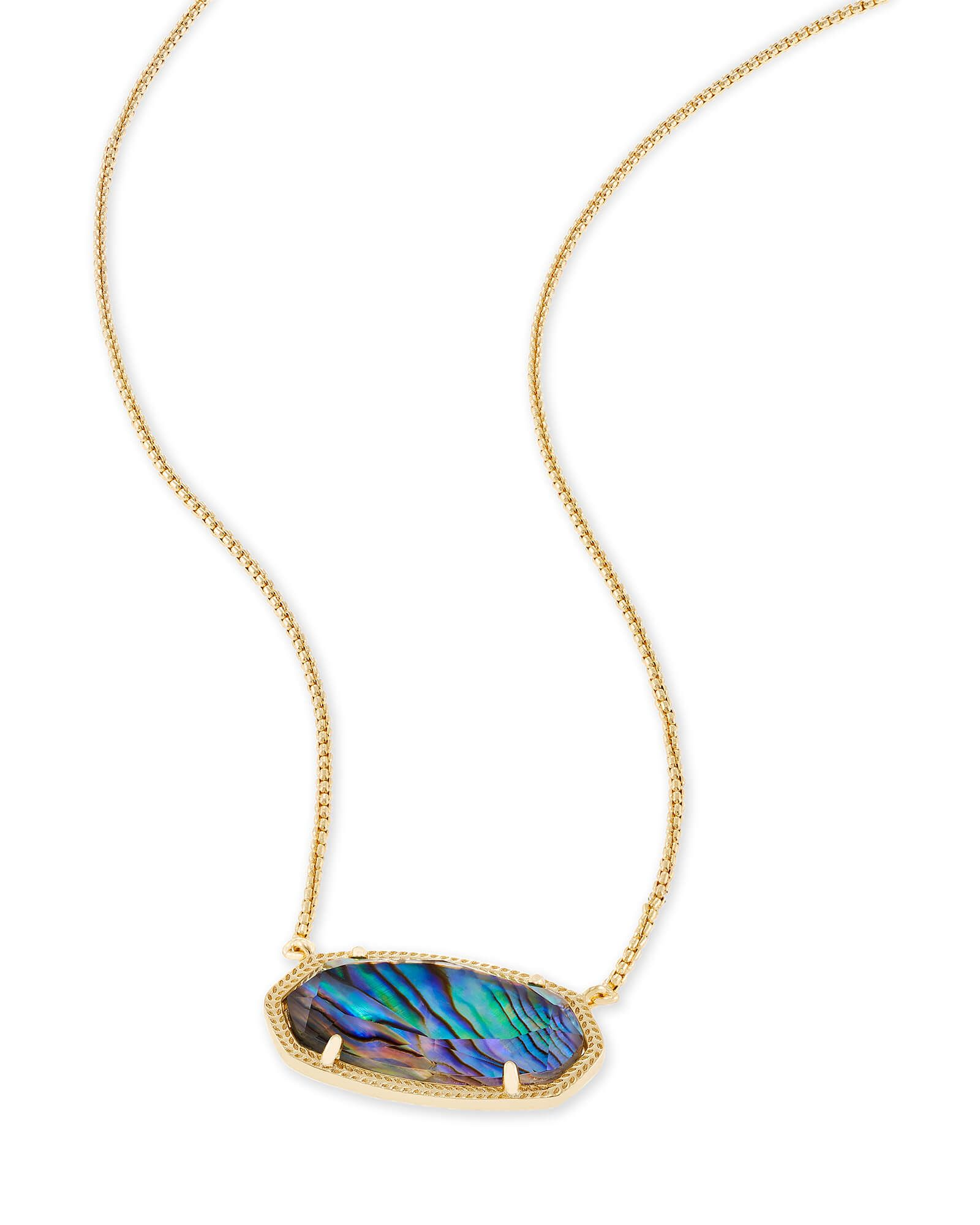 Delaney gold pendant necklace in abalone shell i need a sugar