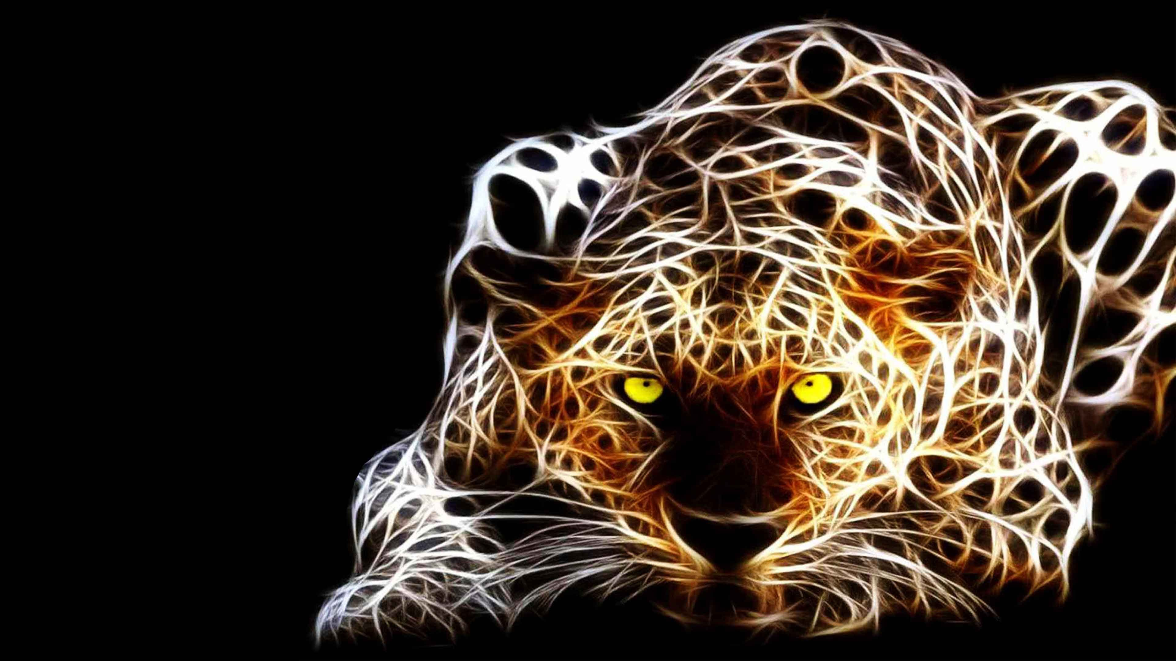 3D Tiger Background Tiger art, Tiger wallpaper, Leopard