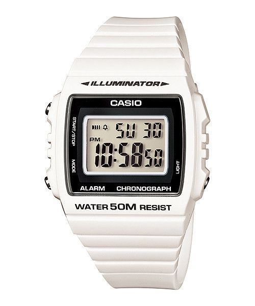 80c2d1f48 Casio Unisex Classic Digital Stop Watch W215H-7A White | Products ...