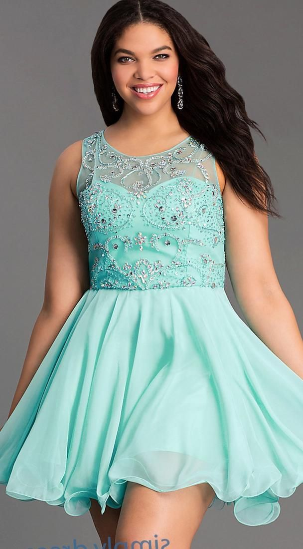 Pin By Plus Size On Plus Size Woman Dress Pinterest Short Prom