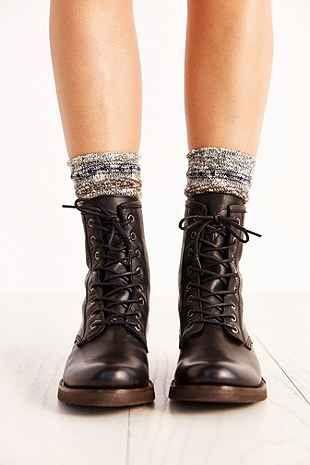 Frye Veronica Combat Block Heel Boots cdUMs28jFd