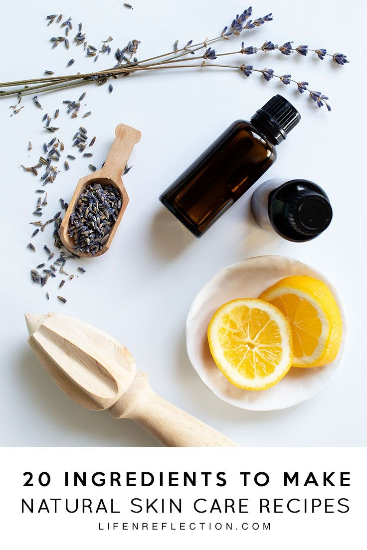 Photo of 20 Essential Ingredients for DIY Natural Skincare