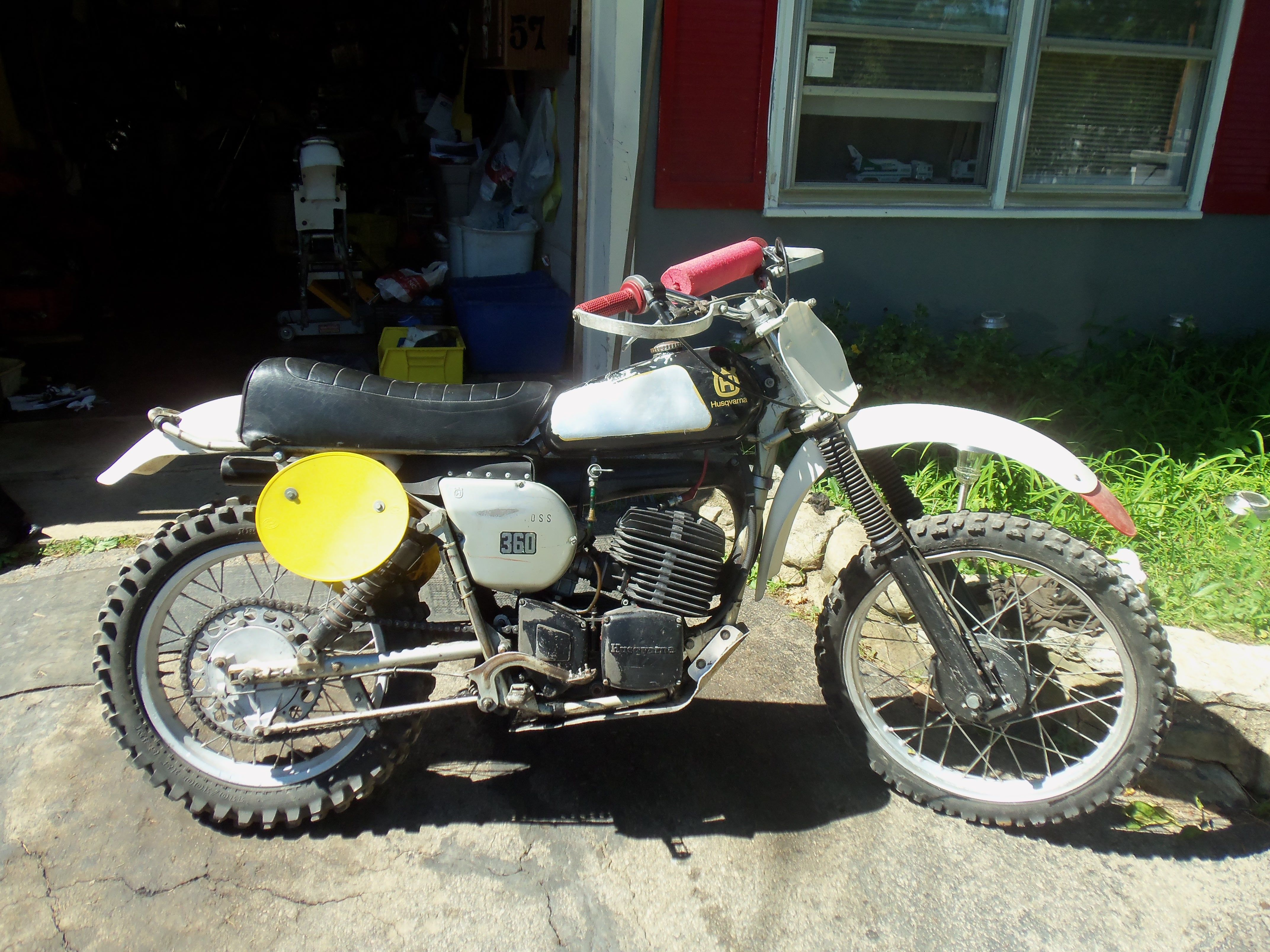 1976 Husqvarna 360CR , ..bought for $900, just as I got it