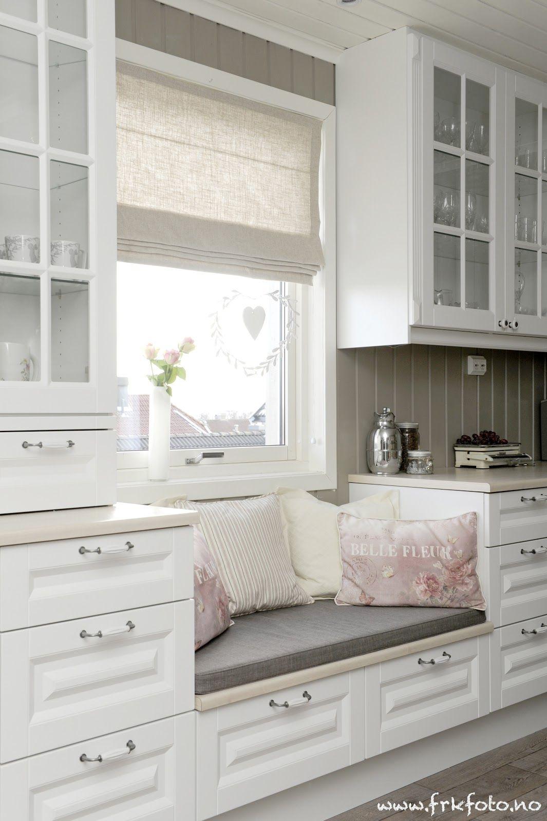 So kann ganz einfach eine Sitzgelegenheit in die Küche integriert ...