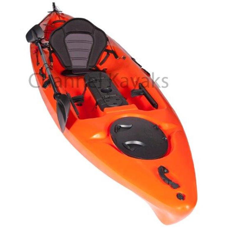 Channel Kayaks Channel Kayaks Orange Pro Fishing Kayak Kayaking Kayaks For Sale Kayak Fishing