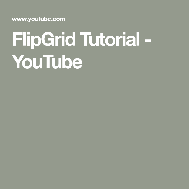 FlipGrid Tutorial YouTube Baby quotes, Eye of the