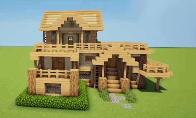 10 Cool Minecraft Houses To Build In Survival Enderchest Minecraft Cottage Minecraft Houses Survival Cool Minecraft Houses
