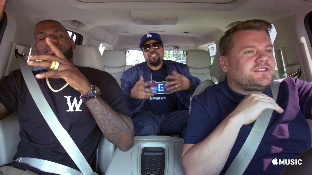 Carpool Karaoke The Series — LeBron James & James Corden