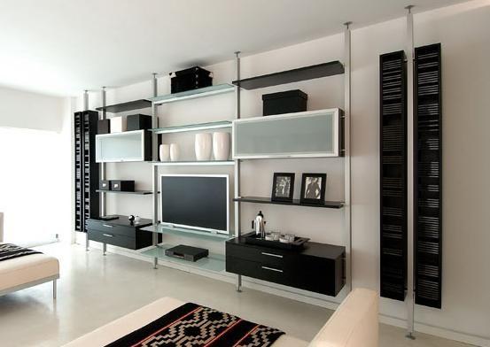 Otro Ejemplo De Un Mueble Para Tv Con Ca Os Cromados Y