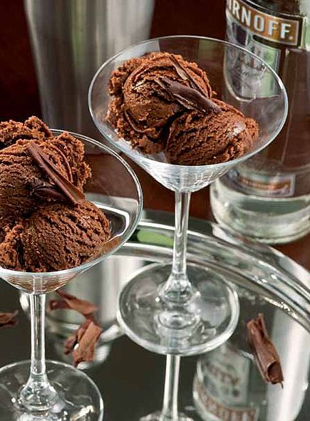 "Chocolate Martini Ice Cream recipe from ""Ice Cream Happy Hour"""