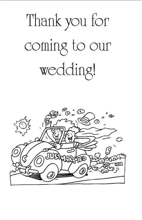 Kids Coloring And Activity Book Wedding Children Diy Back