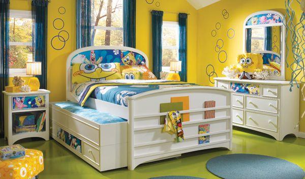 spongebob bedroom | coolest bedrooms | pinterest | bedrooms, bedroom