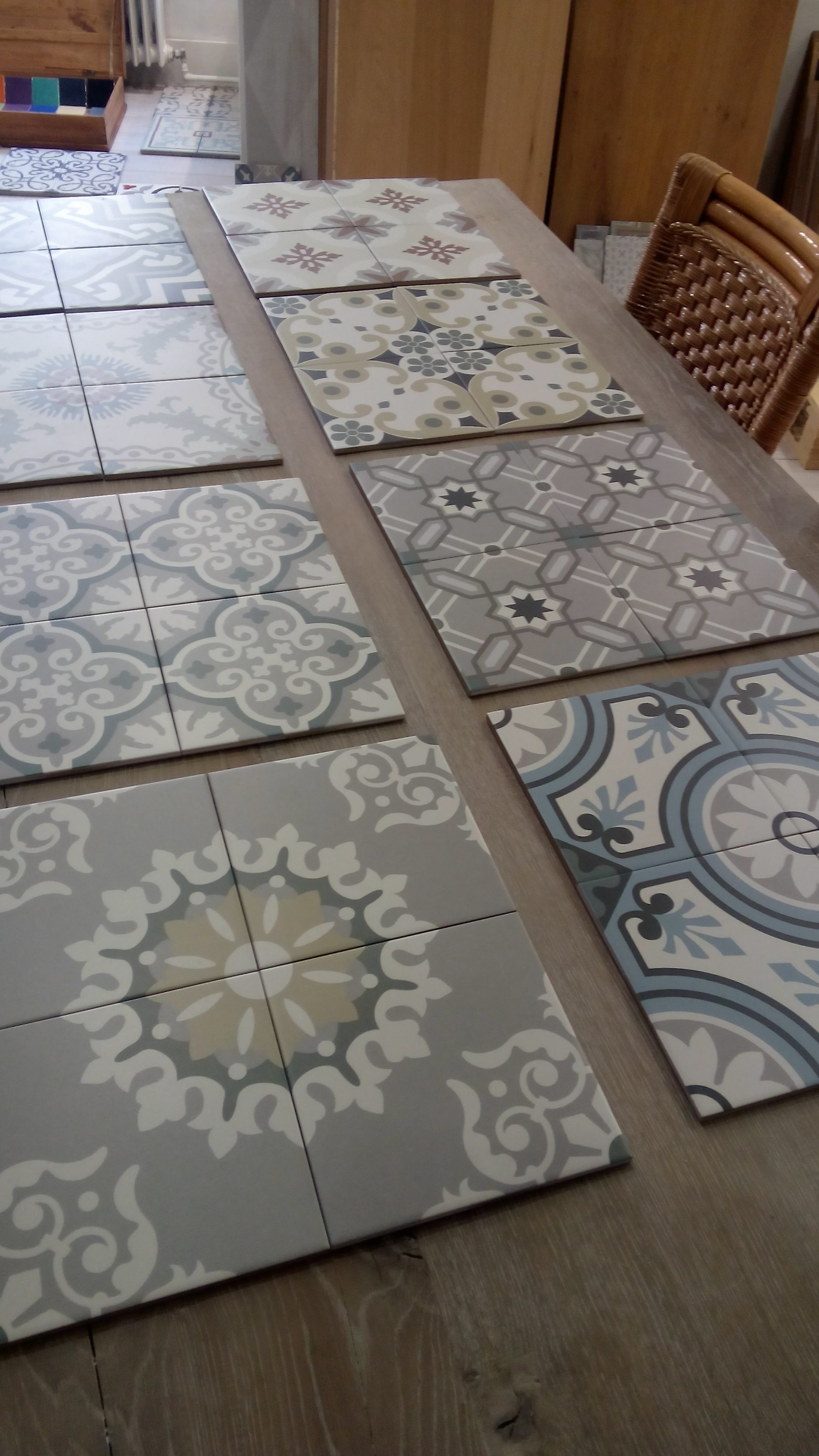 Revoir Paris Ceramic Tile Keramische Tegel 20x20 Fliesen