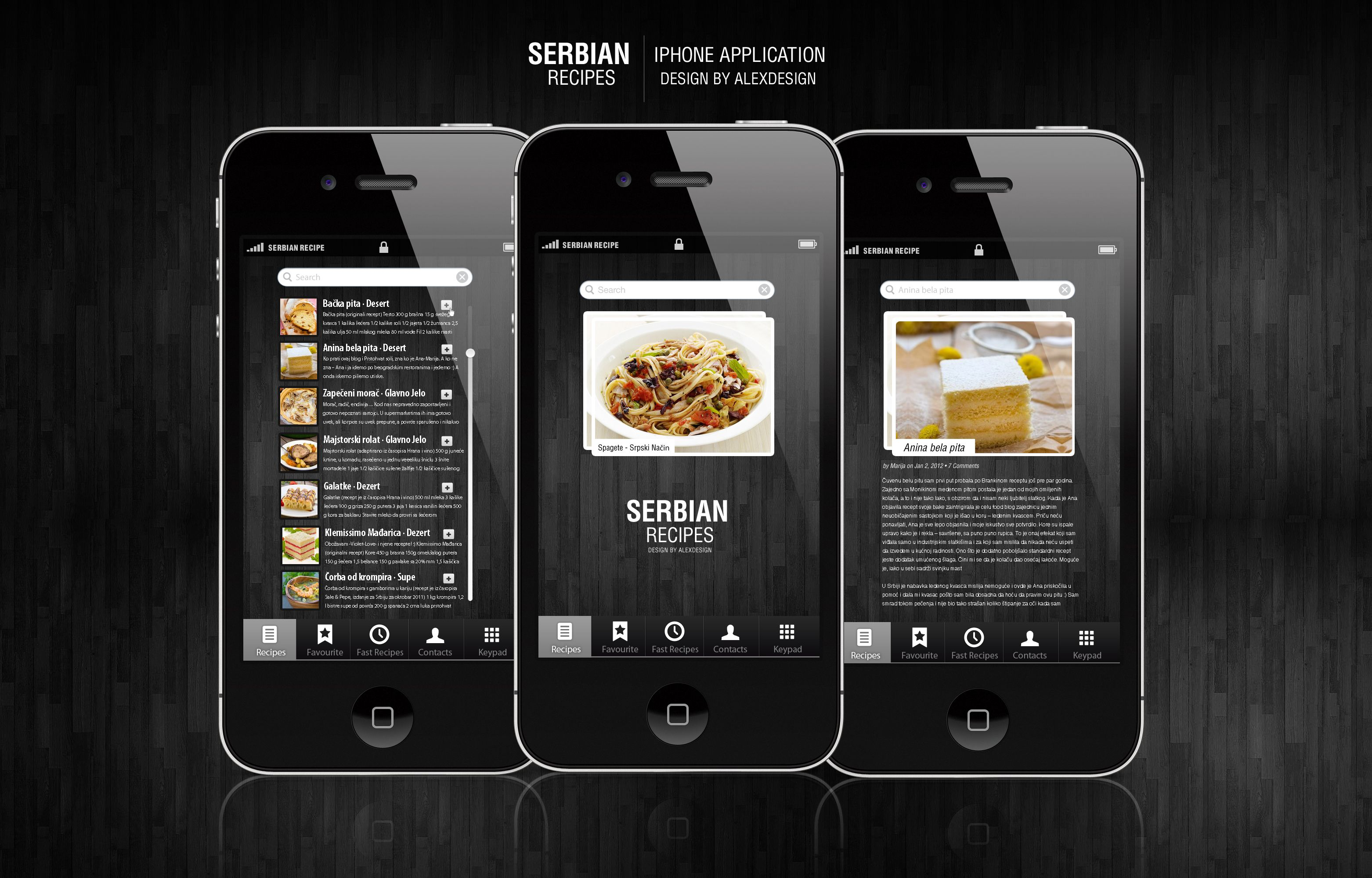 Serbian recipes iphone application by vasiligfx on deviantart app serbian recipes iphone application by vasiligfx on deviantart forumfinder Images