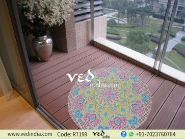 Handmade Indian Cotton Round Mandala Throw Tapestry Hippie Gypsy Roundie Ombre Beach Towel Picnic Blanket Yoga Rug