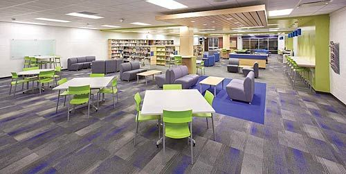 Pin On Library Amp Learning Space Design Ideas