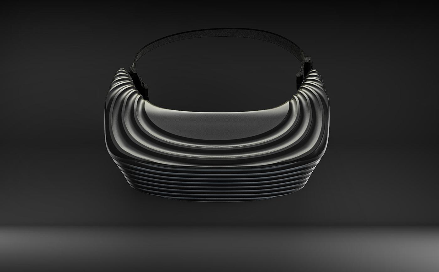Vera - Virtual reality helmet  on Behance