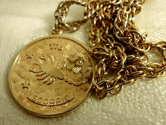 necklace cam ascending jewelry zodiac modesens medallion scorpio product