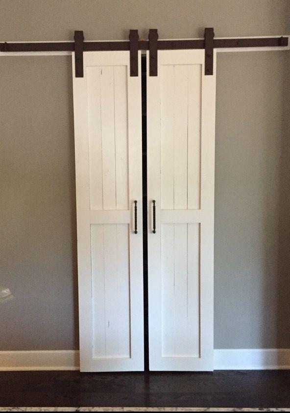 Create A New Look For Your Room With These Closet Door Ideas Barn Door Pantry Farm Door Built In Pantry