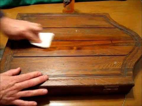 Restore Filthy Antique Wood and Furniture Fast and Simple - YouTube - ▷ Restore Filthy Antique Wood And Furniture Fast And Simple
