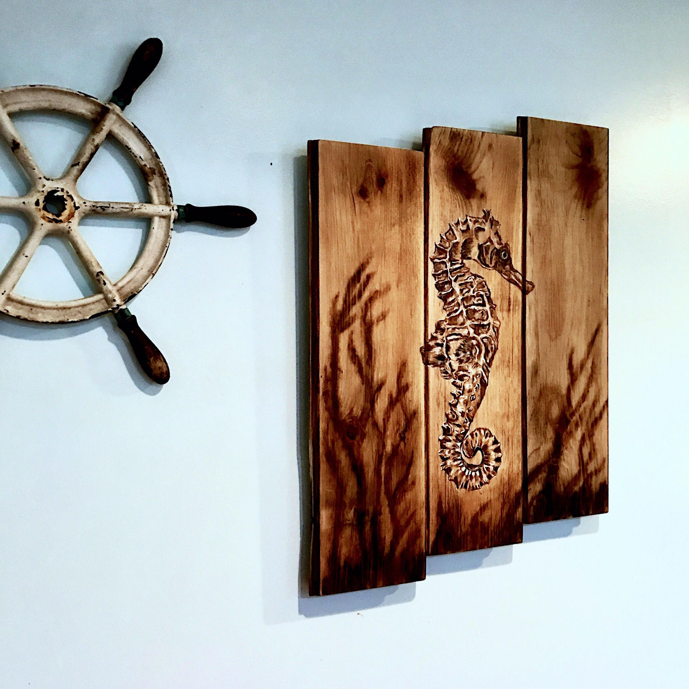 decoration wall anchor wooden store front decorations door decor lake beach nautical hanger