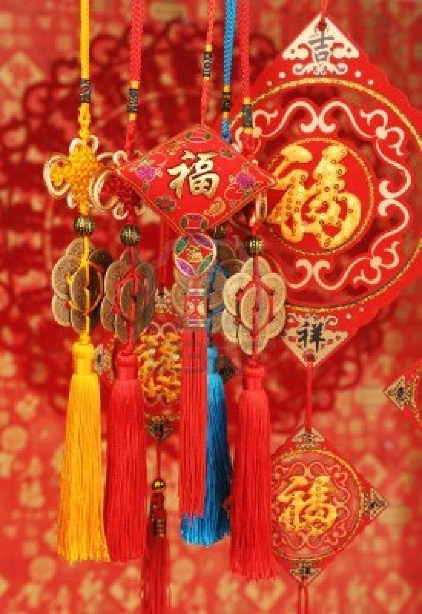 chinese new year ornaments Chinese new year decorations