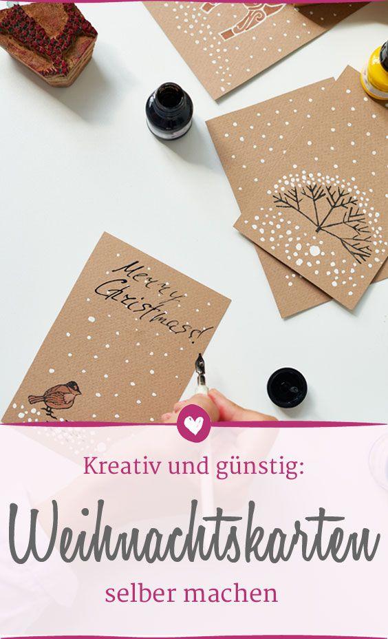 Weihnachtskarten und Co. basteln - und 220 Euro sparen! | DIY ...