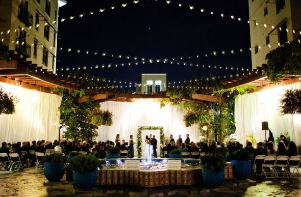 Beautiful Nighttime Ceremony