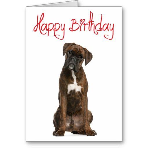 Birthday Boxerdog Boxer Dog Happy Birthday Puppy Boxer Love