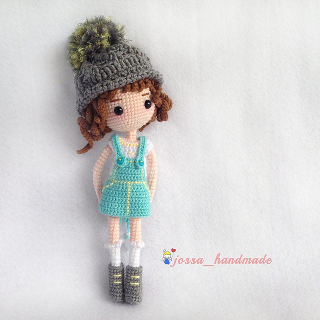 Mimi Amigurumi Doll with 2 outfits pattern by jossa handmade