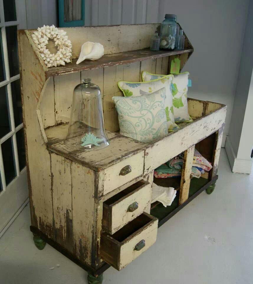Mueble vintage muebles pinterest decoraci n vintage - Decoracion muebles antiguos ...