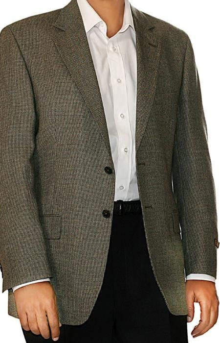 Tan Color Two Button Men's Blazer.. We Have Collection of #Men's ...