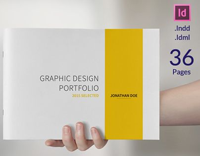 Check Out New Work On My Behance Portfolio A5 Graphic Design Portfolio Template Http Be