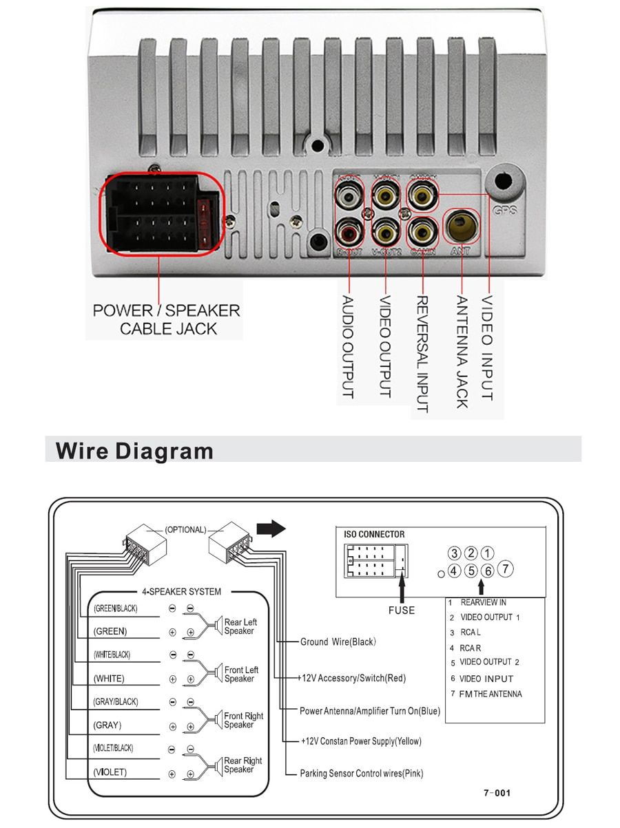 30 Unique 7018b Radio Wiring Diagram Radio Car Radio Wire