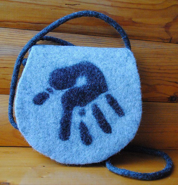 51ae22e8be12 Купить Сумочка Моё! - валяная сумка, войлочная сумка, сумочка, маленькая  сумочка, эко, бежевый