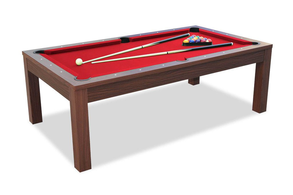 Billard convertible en table manger noyer en 2019 salon table de billard table salle - Table de salon convertible en table de salle a manger ...