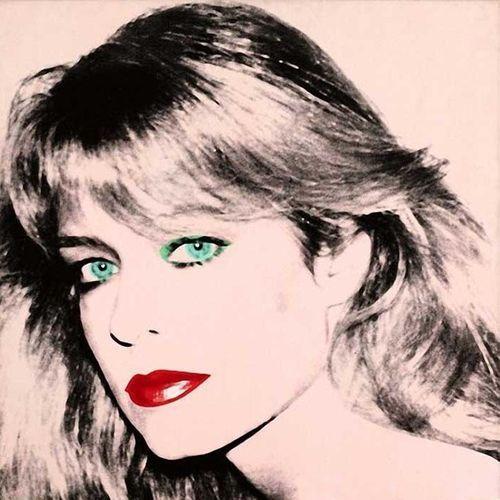 adreciclarte: Andy Warhol - Portrait of Farrah Fawcett More At FOSTERGINGER @ Pinterest