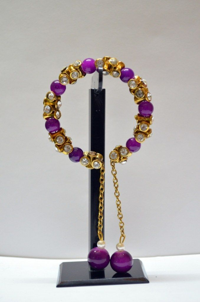 Purple ang golden bracelet,purple and gold bracelet,purple and gold shamballa bracelet,purple and gold paracord bracelet,purple and gold survival bracelet,purple jade and gold bracelet