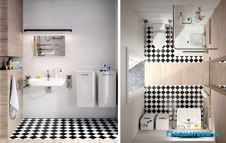 Priestorové riešenia - Bezbariérové kúpeľne pre starších, imobilných a vozíčkarov - Aquaterm.sk