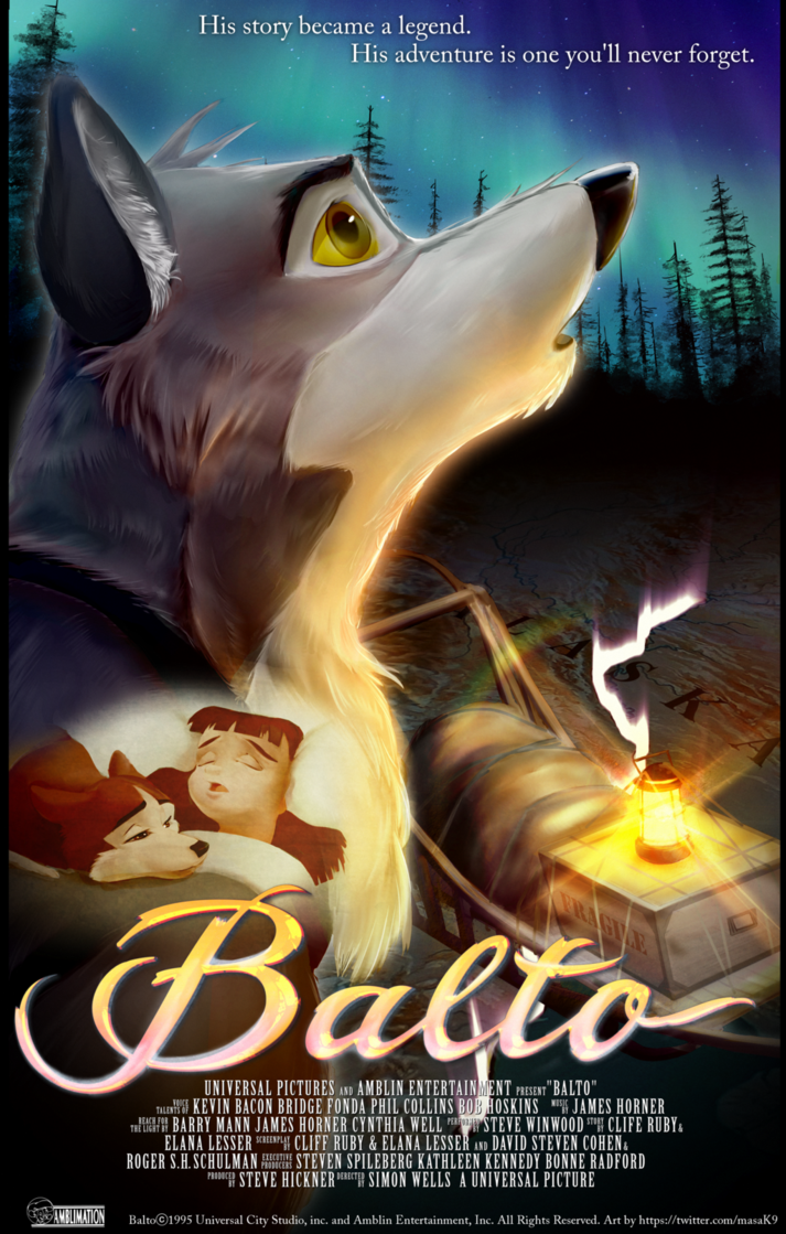 Balto 20th Anibersary by ABCsan on DeviantArt New disney