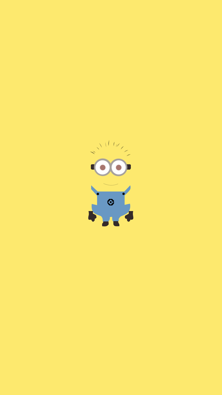 All Yellow Minion Iphone 6 Wallpaper From Despicable Me For 2014